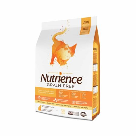 NUTRIENCE GRAIN FREE PAVO-POLLO-ARENQUE 2.5KG - Noi
