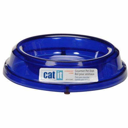 Catit Gourmet Overweight Cat Dish - Marine Blue