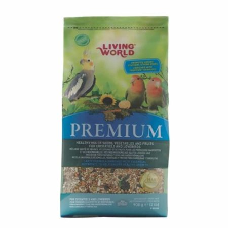 Living World Premium Mezcla para Ninfas