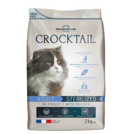 Flatazor Crocktail Light Esterilizados Con Pollo