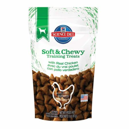Hills Soft & Chewy Training Treats with Real Chicken