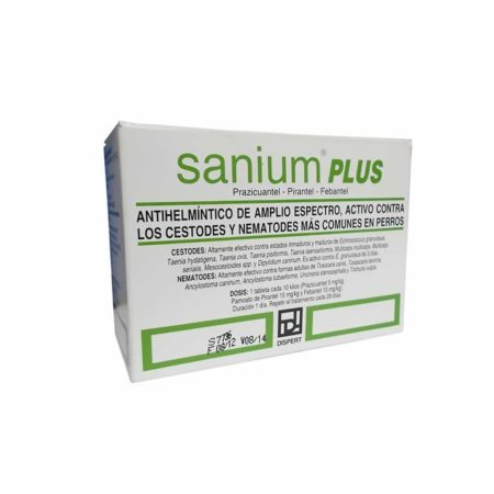 SANIUM PLUS PERROS - Comprimido Oral