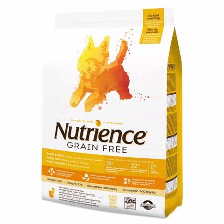 Nutrience Canino Grain Free Small Bites - Pavo, Pollo y Arenque