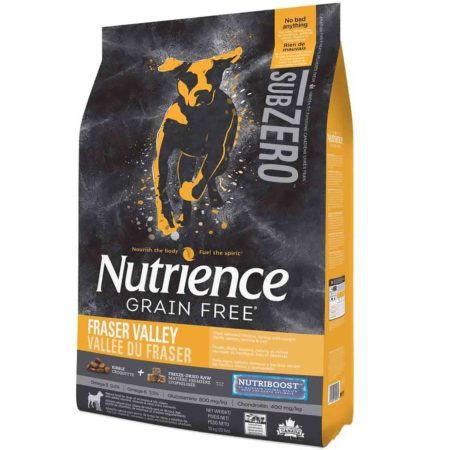 Nutrience Grain Free Subzero Dog Adulto - Fraser Valley