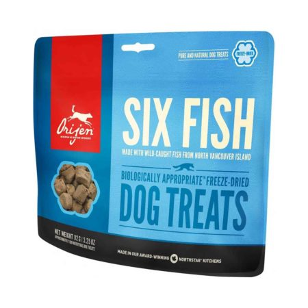 ORIJEN TREATS - SIX FISH