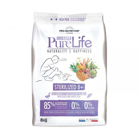 Pure Life for Cats Sterilized +8